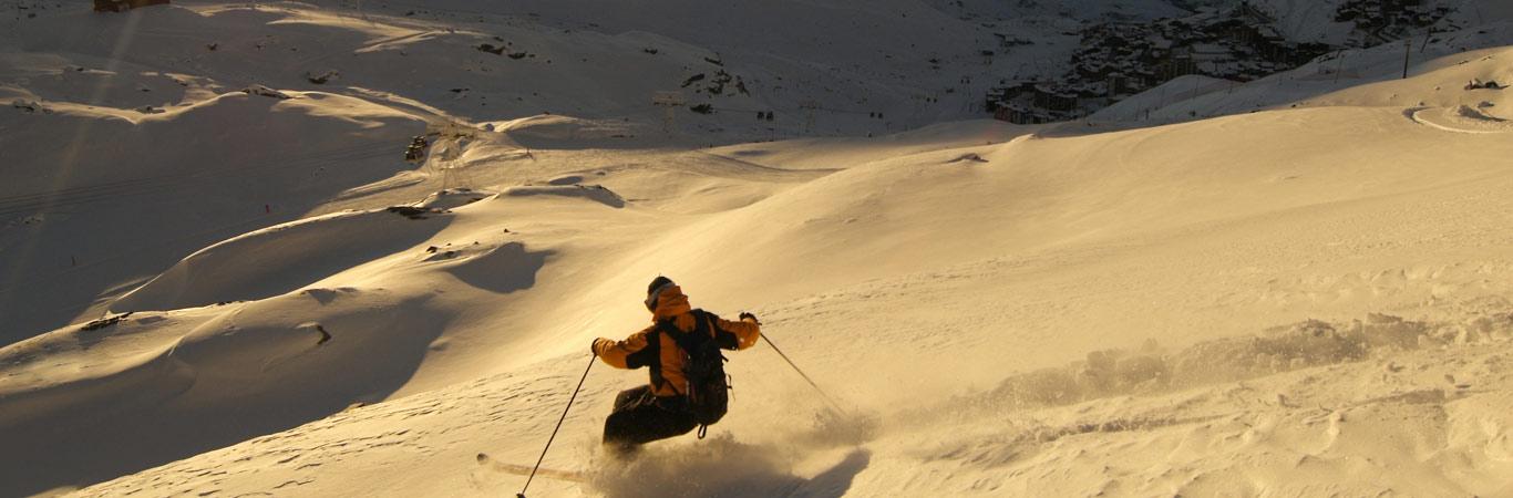 Narty alpy Francja