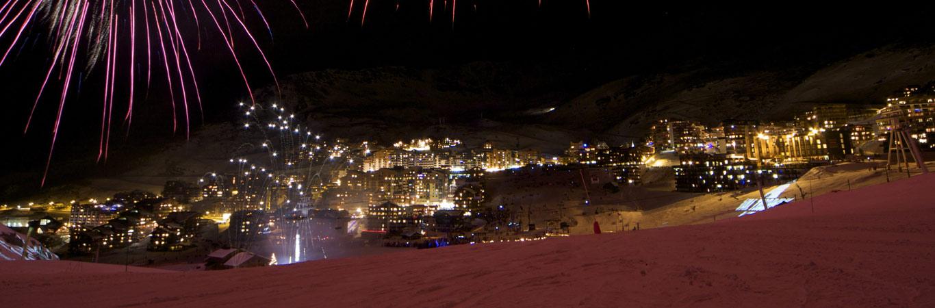 Francja val thorens po nartach