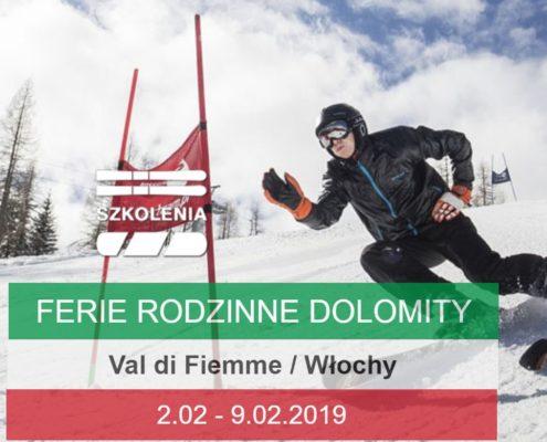 Ferie Narty val di fiemme 2017 Dolomity