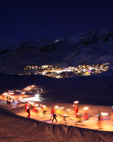 Val Thorens narty Alpy samolotem