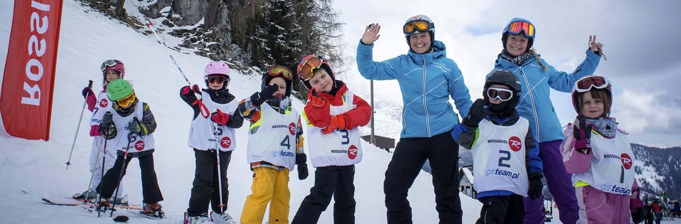 szkolenia narciarskie dzieci i dorośli Arraba Włochy