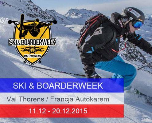 boarderweek VAL Thorens narty